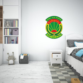 Naklejka na ścianę - HERB LKS Wielkopolska Komorniki